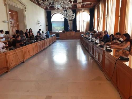 Δήμαρχος Ηρακλείου Βασίλης Λαμπρινός - Παρουσίαση Μελέτης Καμινίων