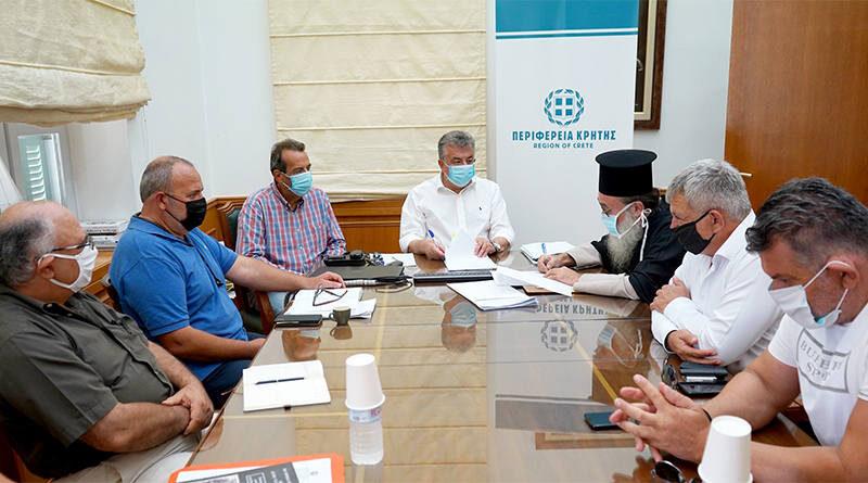 Υπογράφηκε σύμβαση 790 χιλ. ευρώ για την συντήρηση – αποκατάσταση του ιστορικού Ιερού Ναού Αγ. Τίτου Τυμπακίου