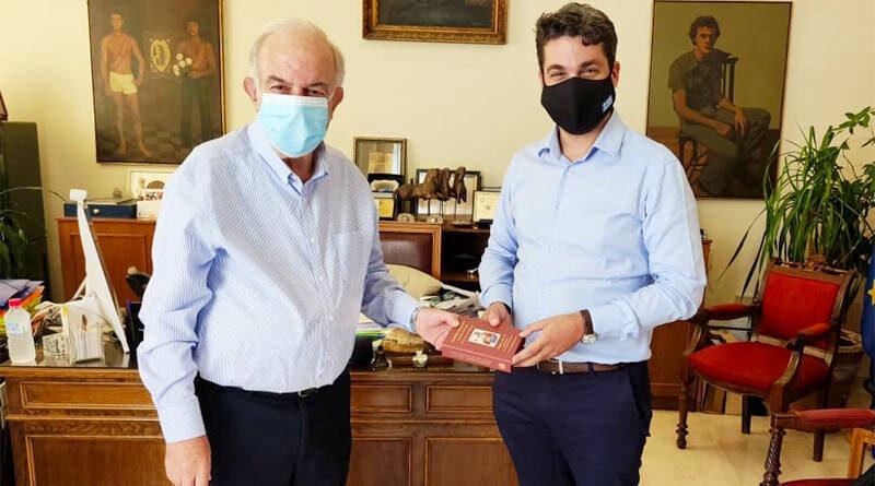 Παναγιώτης Σημανδηράκης και ο Βασίλης Λαμπρινός