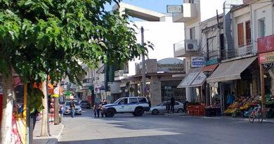 Ισχυρή αστυνομική δύναμη στη Μεσαρά, λόγω της πορείας διαμαρτυρίας