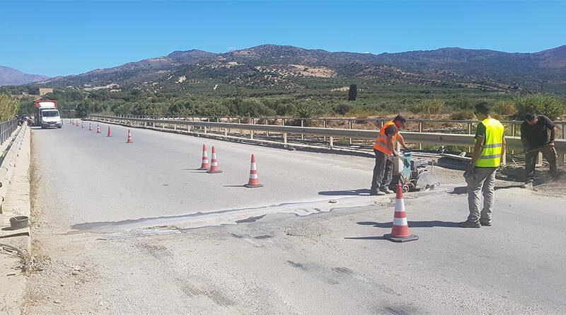 Συντήρηση οδικής γέφυρας