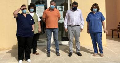 Στο Κέντρο Υγείας Μοιρών και στα Π. Ι. Τυμπακίου, Ζαρού και Αγίων Δέκα ο Νίκος Ηγουμενίδης