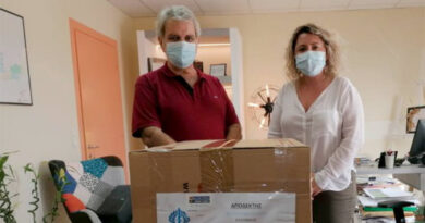 Δωρεά χειρουργικών μασκών στα νοσοκομεία του Ηρακλείου