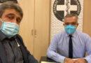 Συνάντηση Ηγουμενίδη με τον Πρόεδρο του Ιατρικού Συλλόγου Ηρακλείου