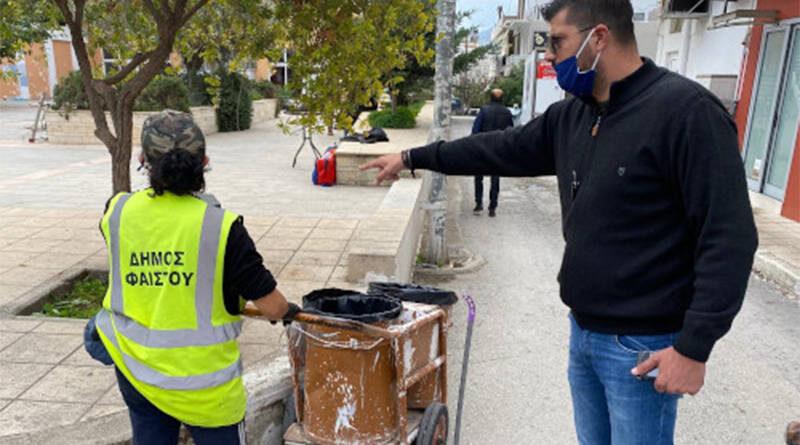 Δράσεις Καθαριότητας στο Δήμο Φαιστού